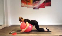 Aeroplane Exercise for Cyclists