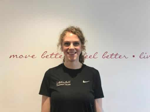 JENNY SHARPE – Senior Physiotherapist