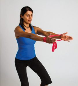 Rotator Cuff Overhead Flexion With Band