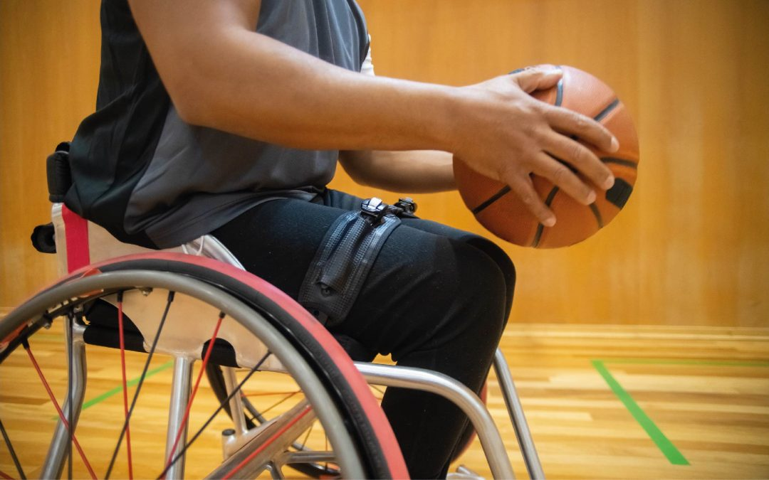 adaptive sports - wheelchair basketball